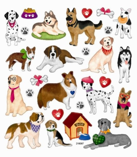 StickerKing Husky Stickers Perspective: front