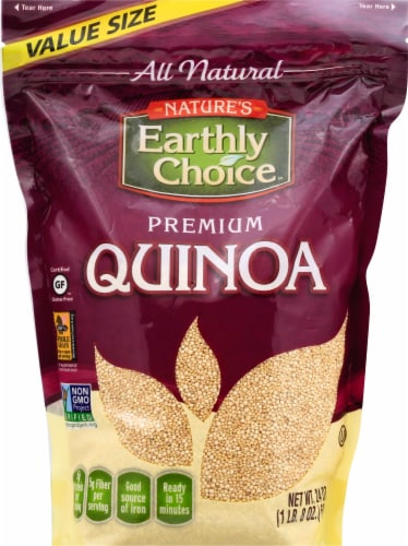 Nature's Earthly Choice Premium Quinoa Perspective: front