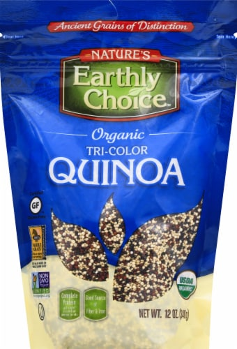 Nature's Earthly Choice Organic Tri-Color Quinoa Perspective: front