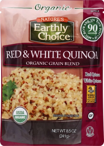 Nature's Earthly Choice Organic Red and White Quinoa Blend Perspective: front