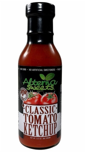 AlternaSweets Classic Tomato Ketchup Perspective: front