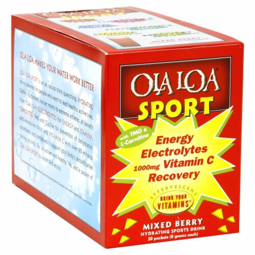 Ola Loa Sport Mixed Berry Perspective: front
