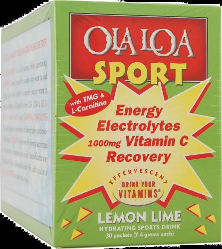 Ola Loa Sport Lemon Lime Perspective: front