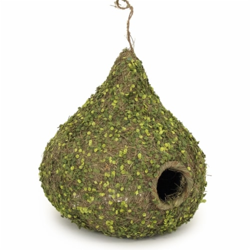 Zentique Faux Twig Vine Hanging Birdhouse, 8 in. Perspective: front