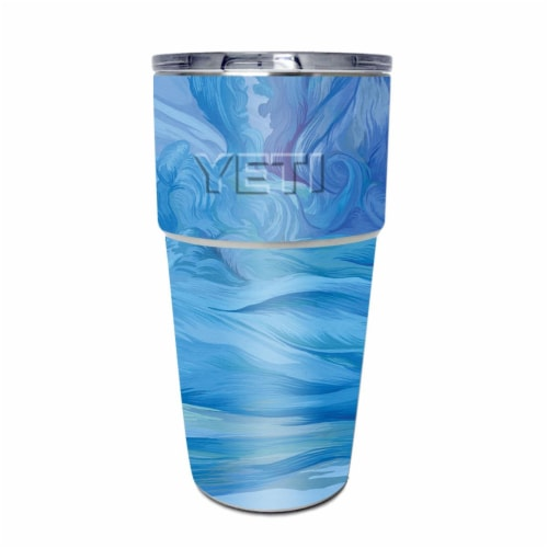 MightySkins YEPINT16SI-Cell Phone Towers Skin for Yeti Rambler 16 oz Stackable Cup - Cell Pho Perspective: front