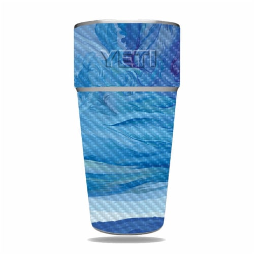 MightySkins CF-YERAM26SI-Cell Phone Towers Carbon Fiber Skin for Yeti Rambler 26 oz Stackable Perspective: front