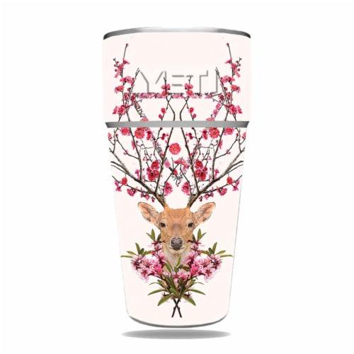 MightySkins YERAM26SI-Spring Deer Skin for Yeti Rambler 26 oz Stackable Cup - Spring Deer Perspective: front