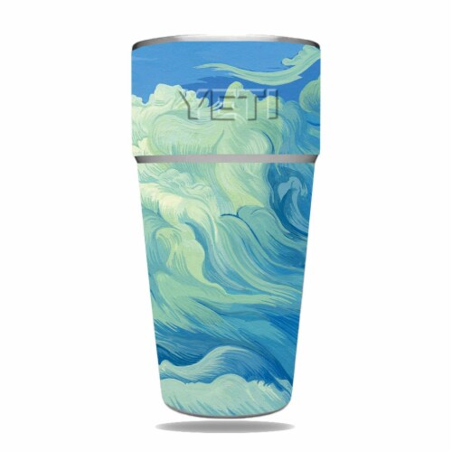 MightySkins YERAM26SI-Visionary Skin for Yeti Rambler 26 oz Stackable Cup - Visionary Perspective: front