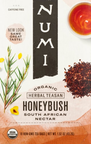 Numi Organic Honeybush Tea Perspective: front