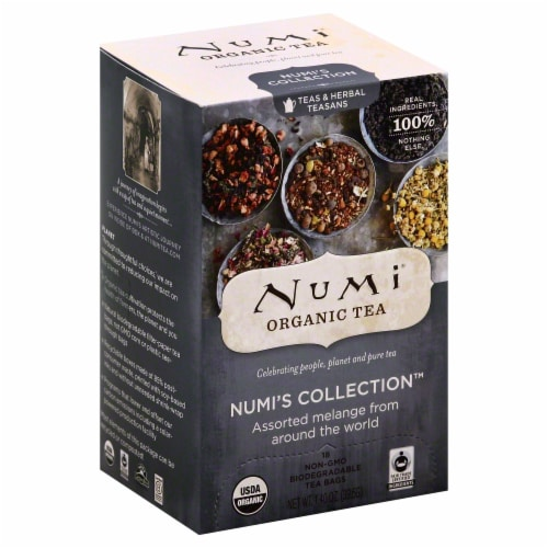 Numi Organic Melange Tea Perspective: front