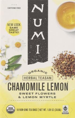 Numi Organic Chamomile Lemon Tea Perspective: front