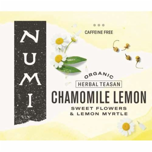 Numi Organic Chamomile Lemon Herbal Tea, 0.66 Pound -- 1 each. Perspective: front
