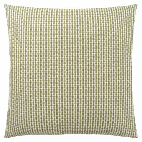 Pillow - 18 X 18  / Light / Dark Green Abstract Dot / 1Pc Perspective: front