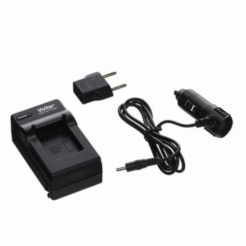 Vivitar Qc-816 Ac/dc Rapid Battery Charger Compatible With Gopro Hero3 Battery Perspective: front