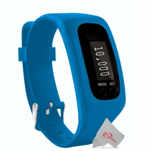 Vivitar Activity Tracker Fitness Watch Sweatproof Design Ios Android Compatible Perspective: front