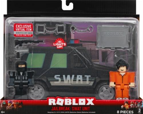 Roblox Jailbreak: SWAT Unit Deluxe Vehicle Perspective: front