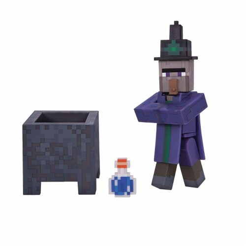 Mojang Minecraft Witch Toy - 3 pc Perspective: front