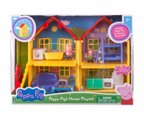 Peppa Pig's House Playset Perspective: front