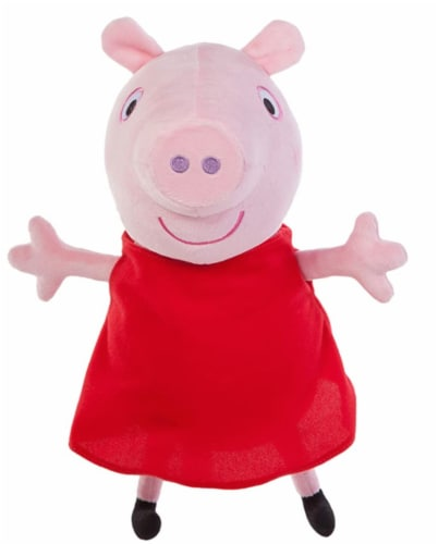 Jazwares Peppa Hug Oink Plush Perspective: front