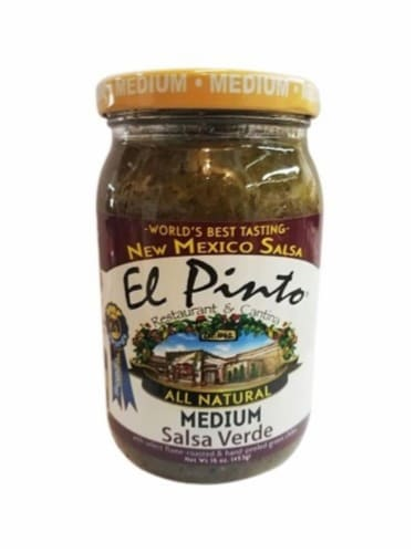 El Pinto Medium Salsa Verde Perspective: front