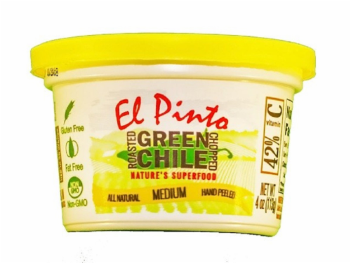 El Pinto Chopped Green Chile Perspective: front