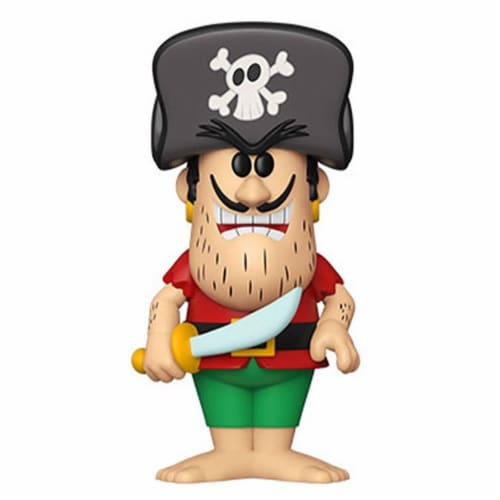 Funko Soda Quaker Oats Jean LaFoote Non-Chase Pirate-Foe of Cap'n Crunch Figure Perspective: front