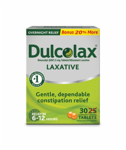 Dulcolax Laxative Tablets Perspective: front
