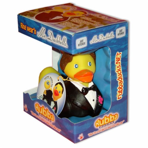 Rubba Ducks RD00065 Mr Duckbells Gift Box Perspective: front