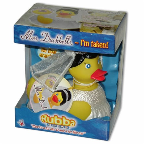 Rubba Ducks RD00066 Mrs Duckbells Gift Box Perspective: front