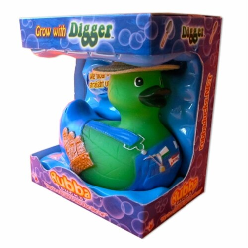 Rubba Ducks RD00070 Digger Gift Box Perspective: front