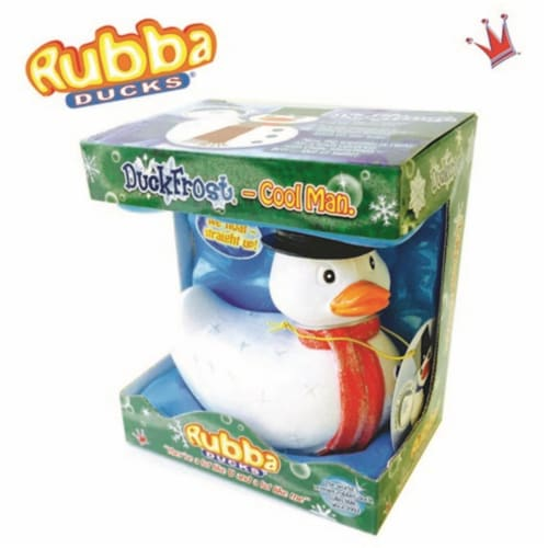 Rubba Ducks RD00086 Duckfrost Seasonal Gift Box Perspective: front
