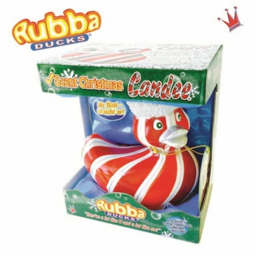 Rubba Ducks RD00142 Candee Cinnamon Scented Seasonal Gift Box Perspective: front