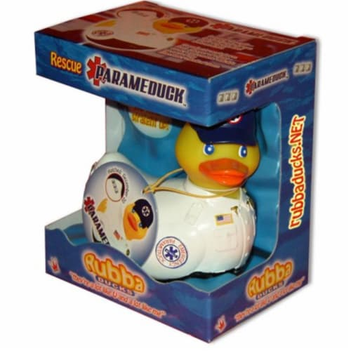 Rubba Ducks RD00173 Parameduck Gift Box Perspective: front