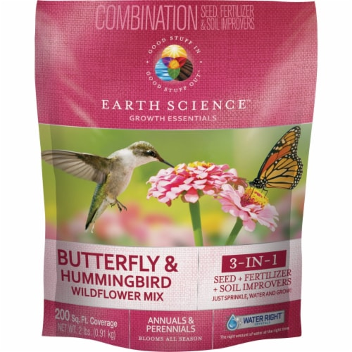 Earth Science 2lb Bh Wildflower Mix 12138-6 Perspective: front