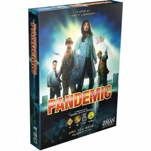 Pandemic Board Game Perspective: front