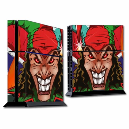 MightySkins SOPS4-Jolly Jester Skin for Sony Playstation 4 PS4 Console Wrap Sticker - Jolly J Perspective: front