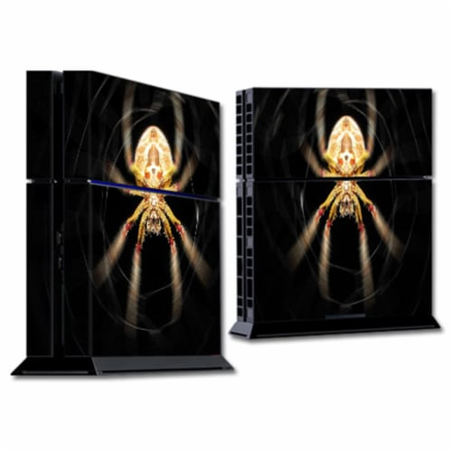 MightySkins SOPS4-Web Skin for Sony Playstation 4 PS4 Console Wrap Sticker - Web Perspective: front