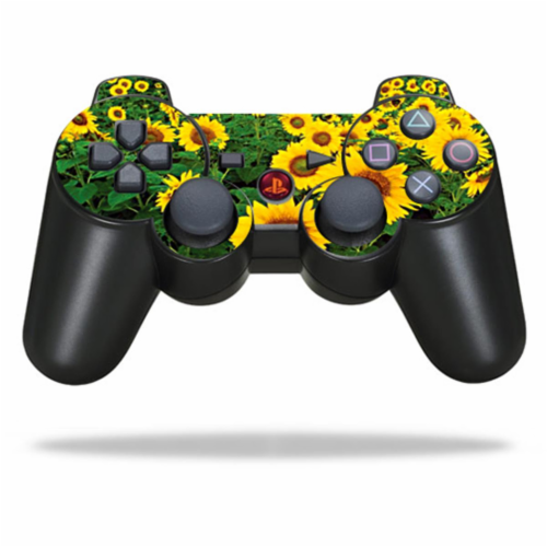 MightySkins SOPS3CO-Sunflowers Protective Vinyl Skin Decal Skin for Sony PlayStation 3 PS3 Co Perspective: front
