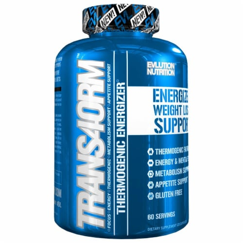 Evlution Nutrition  TRANS4ORM Thermogenic Energizer Perspective: front