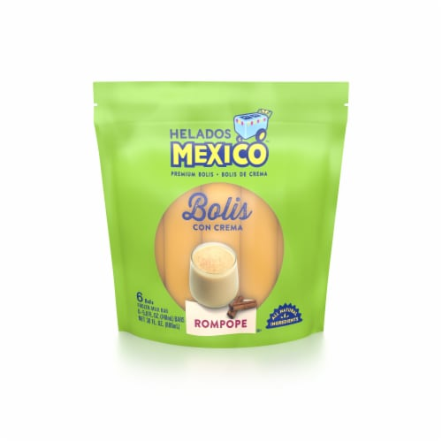 Helados Mexico Rompope Bolis 6 Count Perspective: front