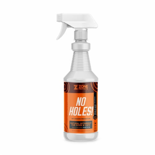 Zone Repellents 102-32S No Holes Digging Dog Prevention Spray Perspective: front
