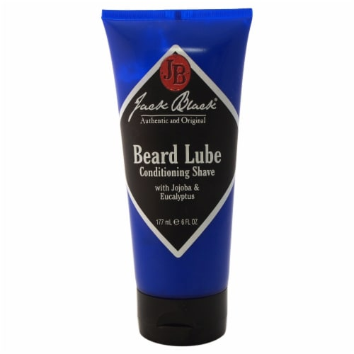 Jack Black Beard Lube Conditioning Shave Shaving Cream 6 oz Perspective: front