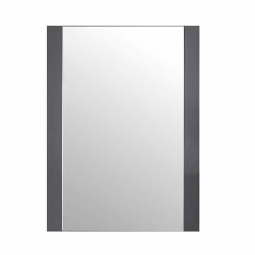 """Rushmore 24"""" Mirror - Grey Perspective: front"""
