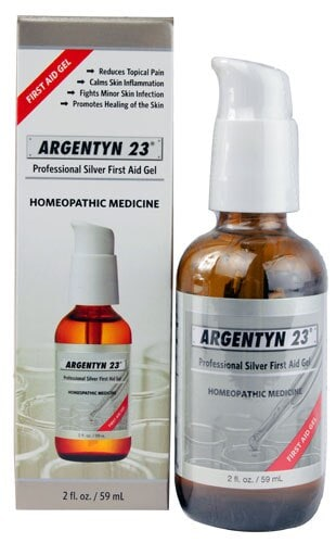 Argentyn 23  Professional Silver First Aid Gel Perspective: front