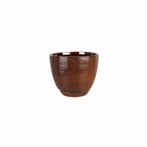 Southern Patio® Caylin Planter - Java Perspective: front