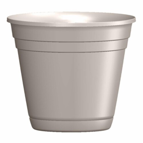 ATT Southern 256815 6 in. Riverl Planter, Taupe Perspective: front