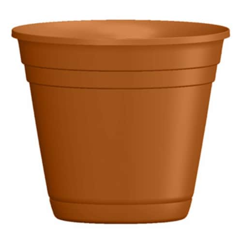ATT Southern 256821 10 in. Light Terra Cotta Riverl Planter Perspective: front