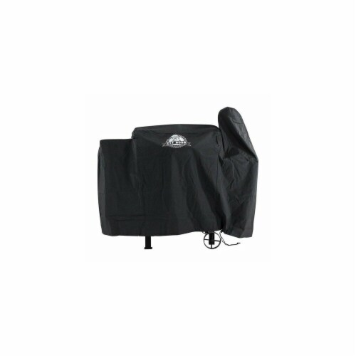 Pit Boss 73440 16 in. Black Exact Fit Grill Cover Perspective: front