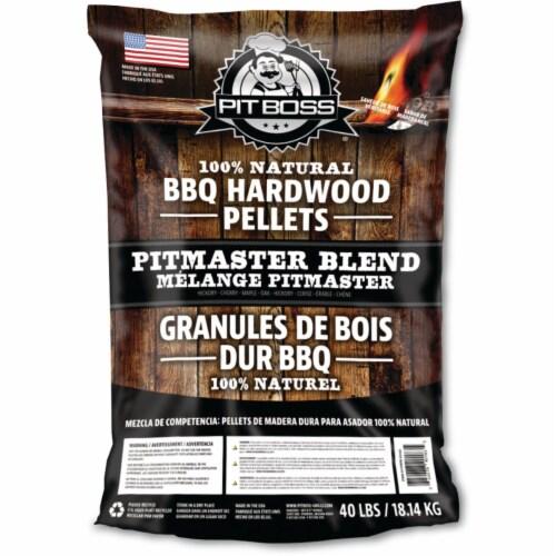 Pit Boss 40 Lb. Pitmaster Blend Wood Pellet 40183 Perspective: front