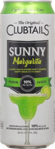 Clubtails™ Sunny Margarita Premium Cocktail Perspective: front